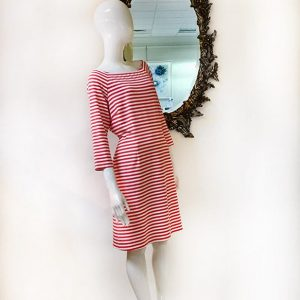 J. McLaughlin Stripe Dress Preview View