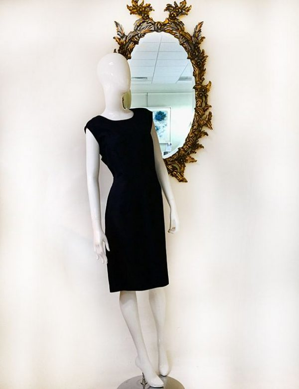Talbots Navy Sleeveless Dress Preview View