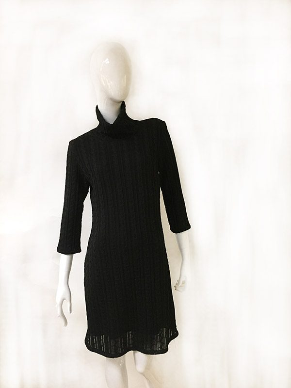 Andria Lieu Sweater Dress Front View 2