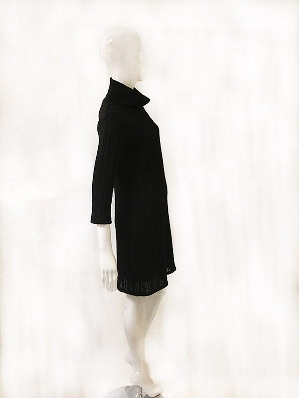 Andria Lieu Sweater Dress Side View 2