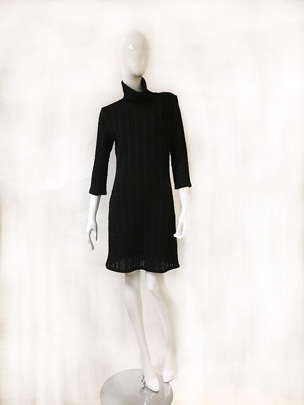 Andria Lieu Sweater Dress Front View