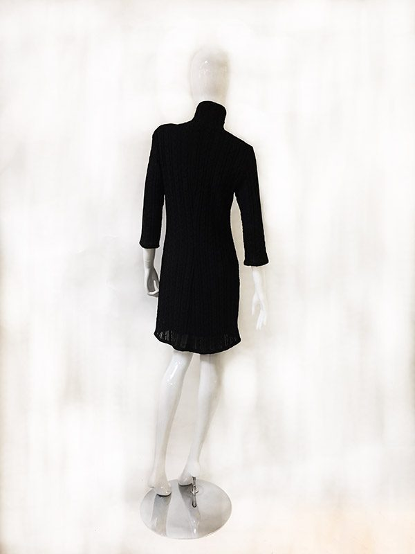Andria Lieu Sweater Dress Back View