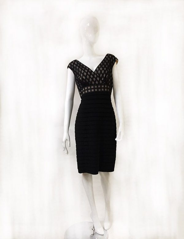 Adrianna Papell Sleeveless Dress Front View