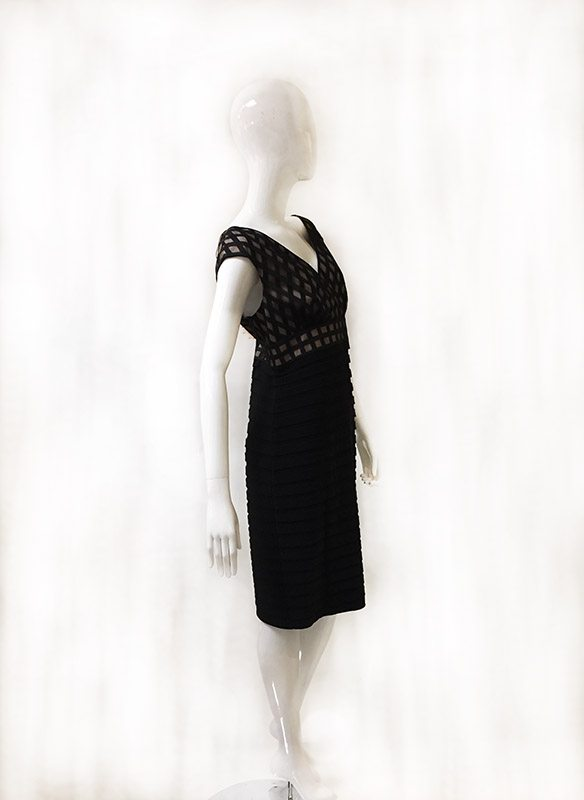Adrianna Papell Sleeveless Dress Side View 2