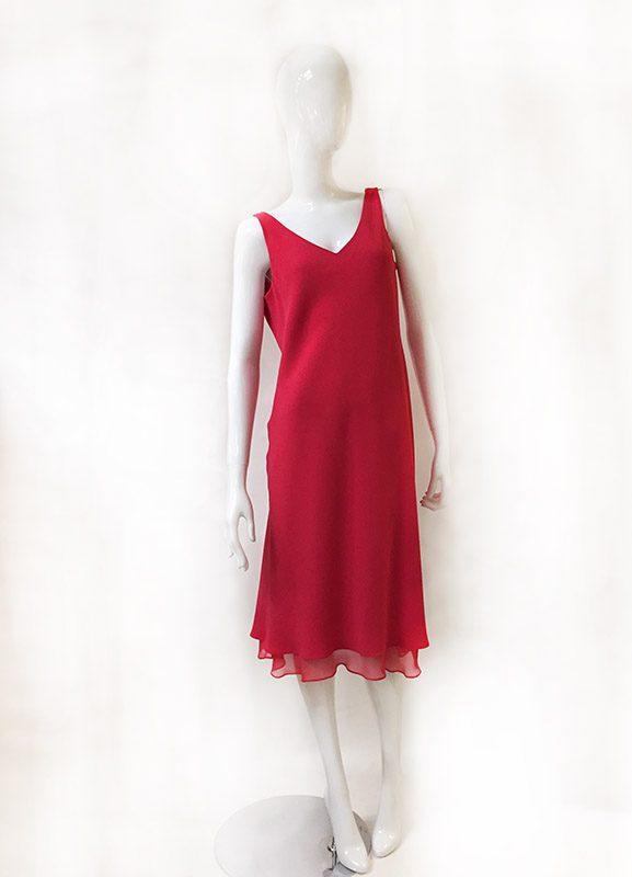 Jones New York Sleeveless Dress Front View