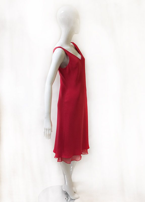 Jones New York Sleeveless Dress Side View 2