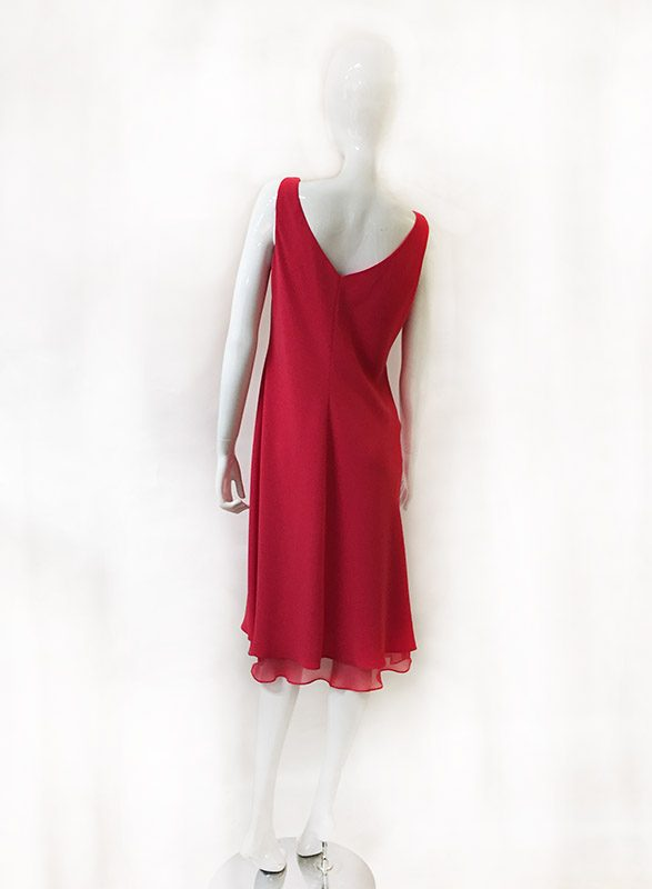Jones New York Sleeveless Dress Back View