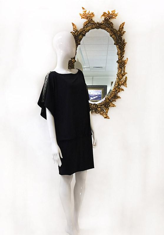 White House/Black Market Blouson Dress Preview View