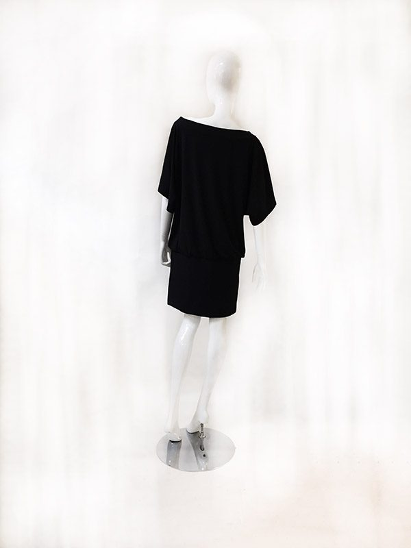 White House/Black Market Blouson Dress Back View