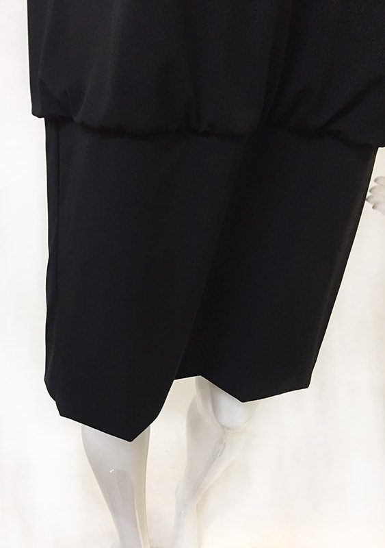 White House/Black Market Blouson Dress Skirt View