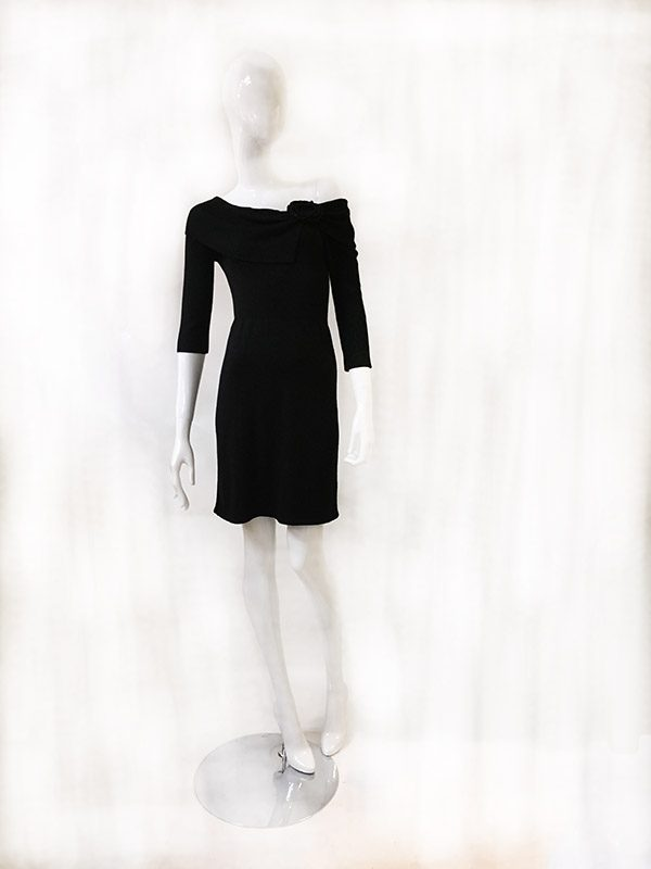 White House Black Market Sweater Dress Front View