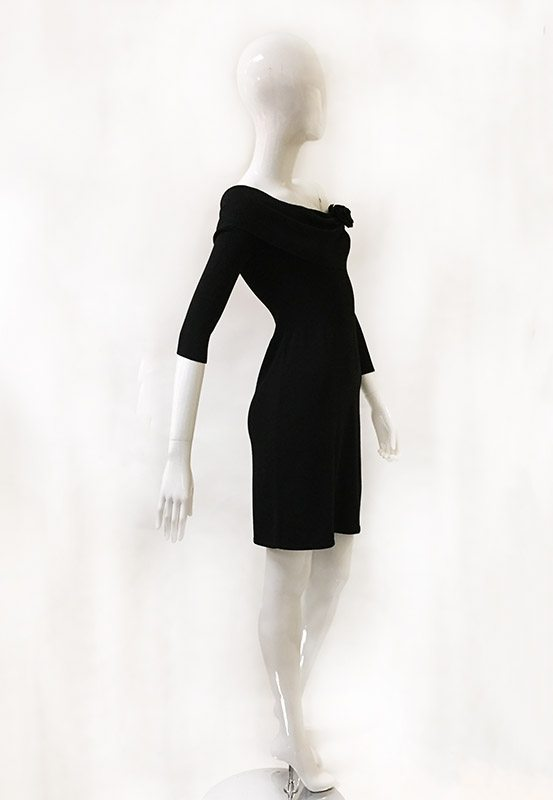 White House Black Market Sweater Dress Side View