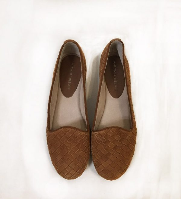 Antonio Melani Woven Loafer Top View