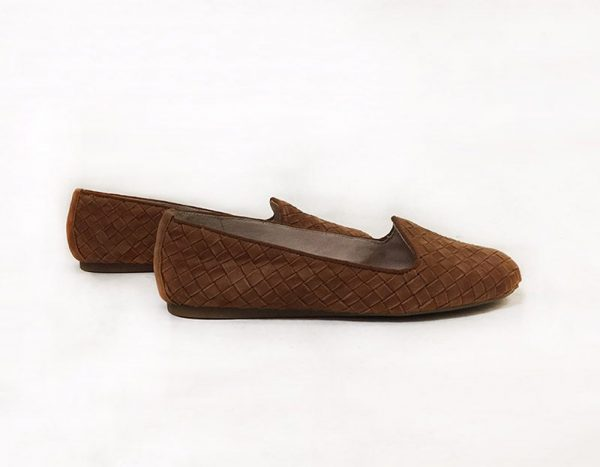 Antonio Melani Woven Loafer Side View 2