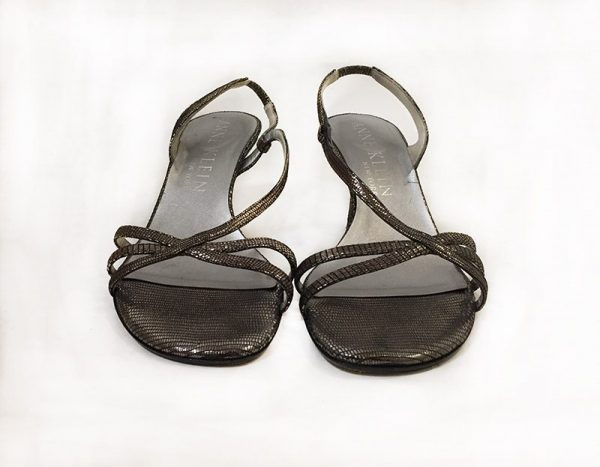 Anne Klein Strappy Sandals Front View