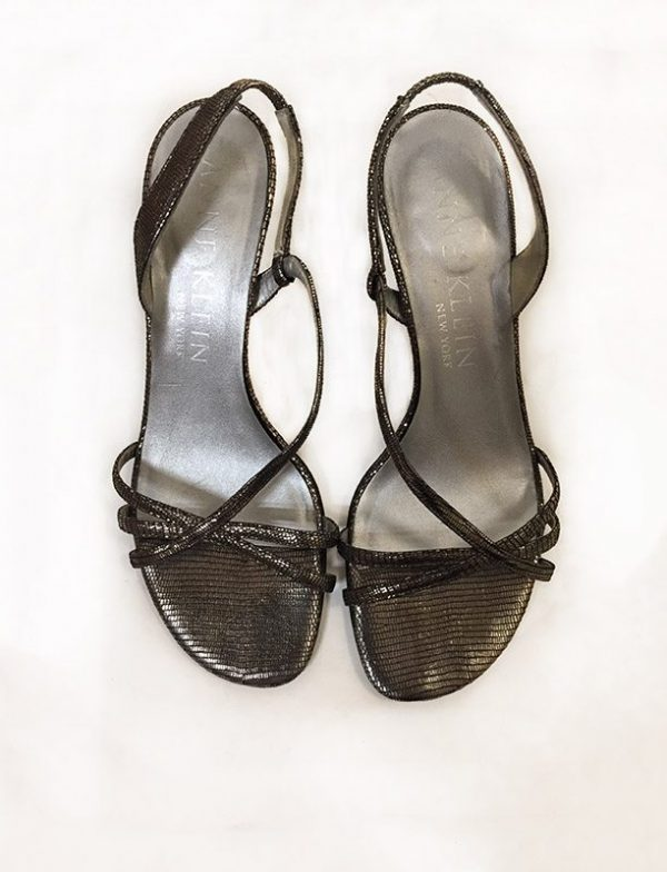 Anne Klein Strappy Sandals Top View