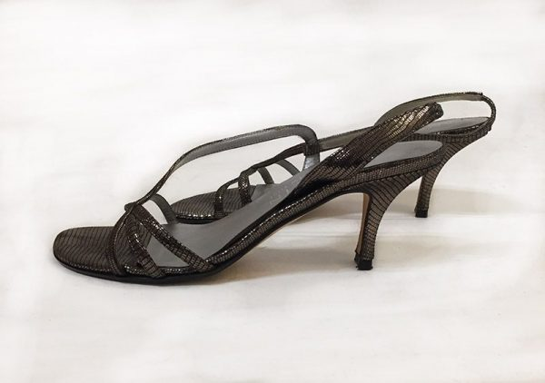 Anne Klein Strappy Sandals Side View 2