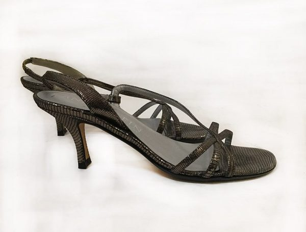Anne Klein Strappy Sandals Side View