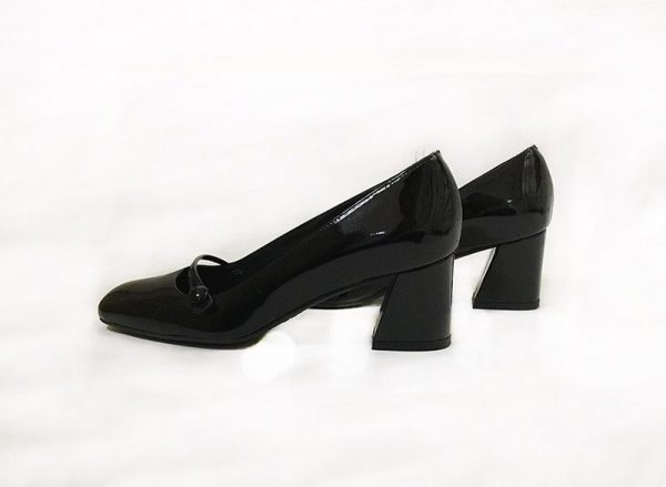 Stuart Weitzman Mary Jane Pumps Side View 2