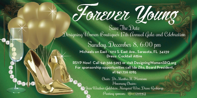 Save the Date Forever Young Gala
