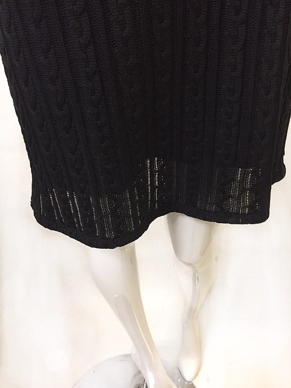 Andria Lieu Sweater Dress Hem View