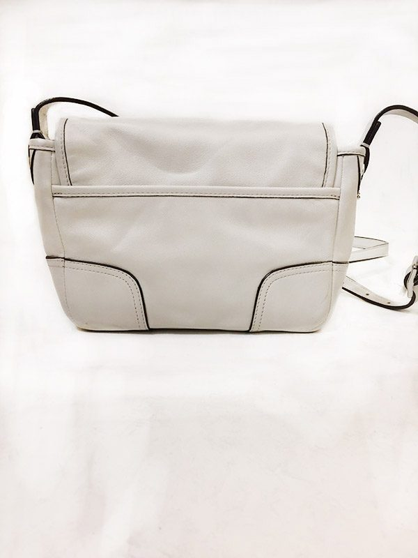Coach Off-White Satchel Back View