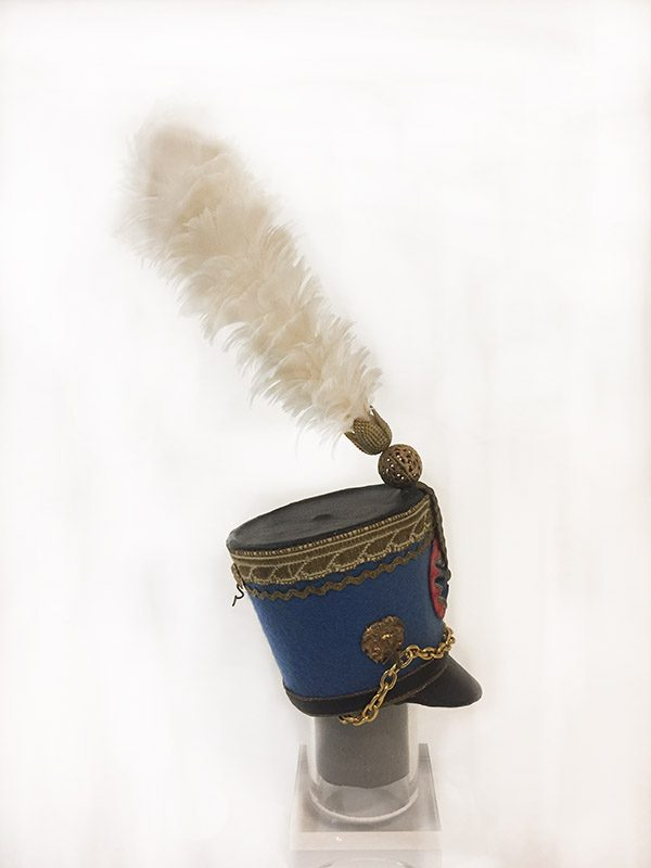 Miniature French Military Hat 4 Side View 2