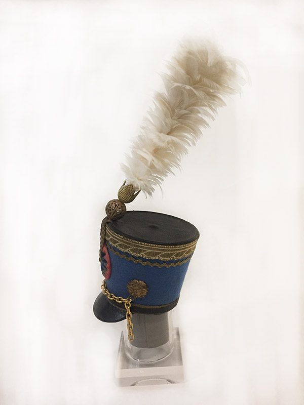 Miniature French Military Hat 4 Side View