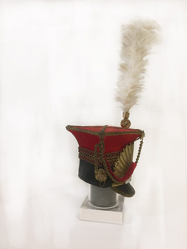 Miniature French Military Hat 2 Side View 2