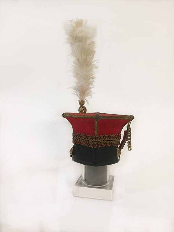 Miniature French Military Hat 2 Back View