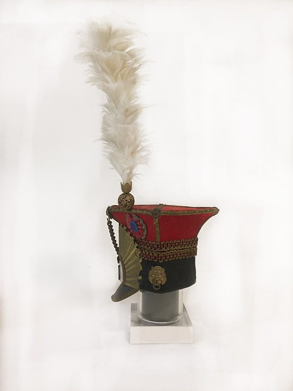 Miniature French Military Hat 2 Side View