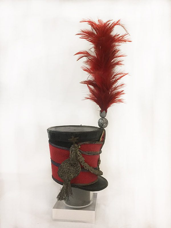 Miniature French Military Hat Side View 2