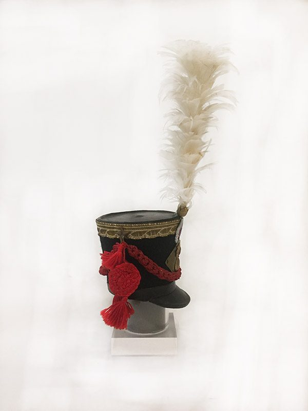 Miniature French Military Hat 3 Side View 2