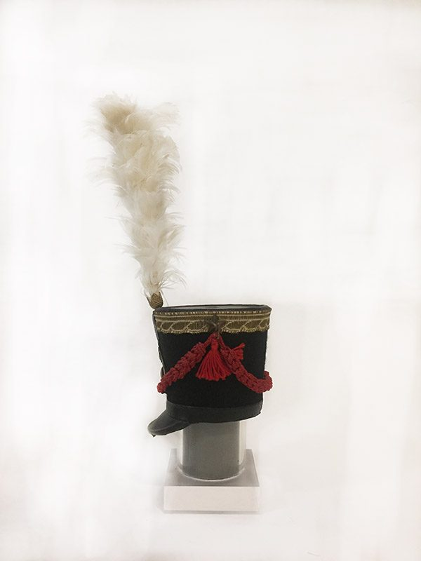 Miniature French Military Hat 3 Side View