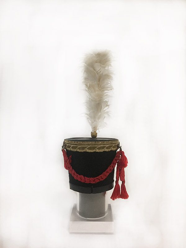 Miniature French Military Hat 3 Back View