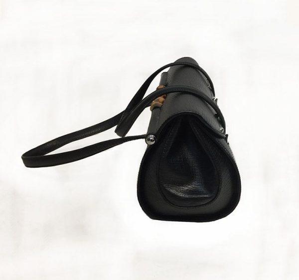Gucci Monogram Canvas Bullet Bag Side View