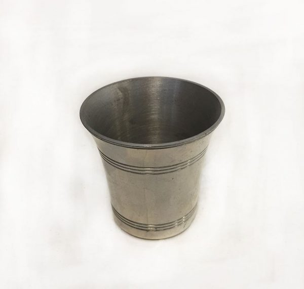 Pewter Trophy Shot Cup Back View