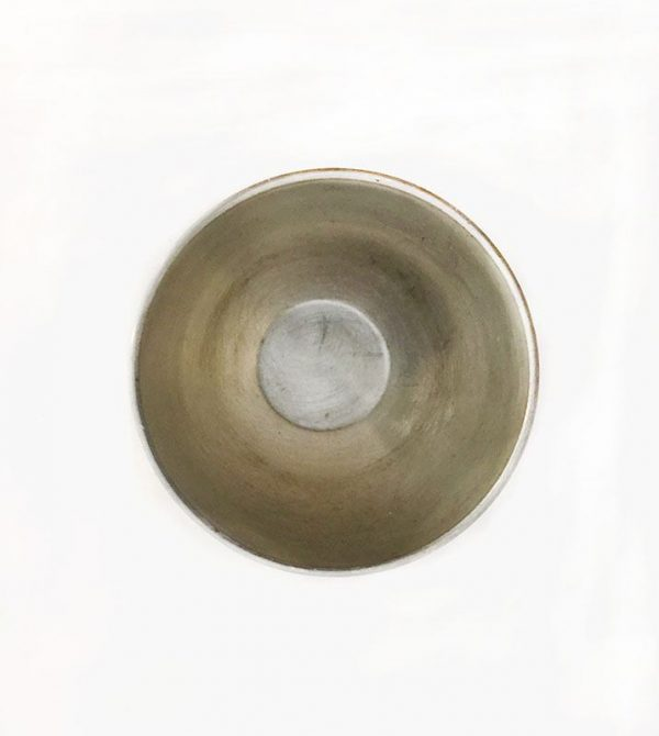 Pewter Small Trophy Cup Interior View